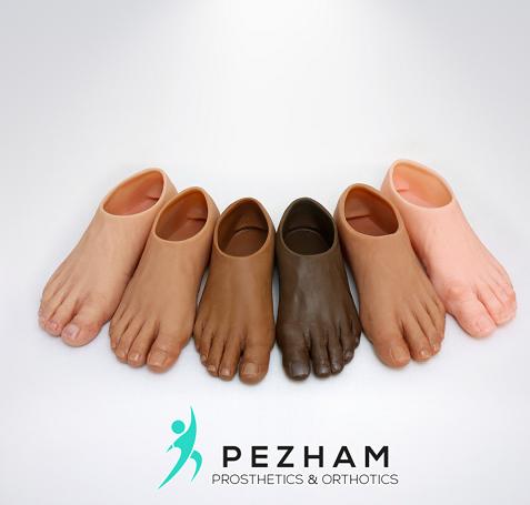 انواع پروتز های قطع انگشتات پا